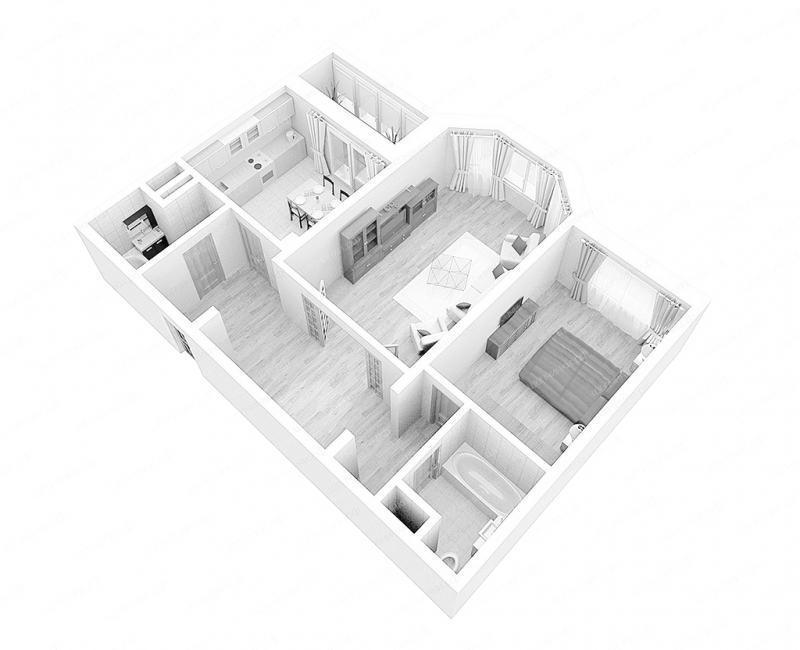Проект перепланировки квартиры: недорого заказать