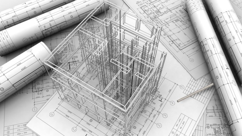 Архитектурный проект для дома или квартиры