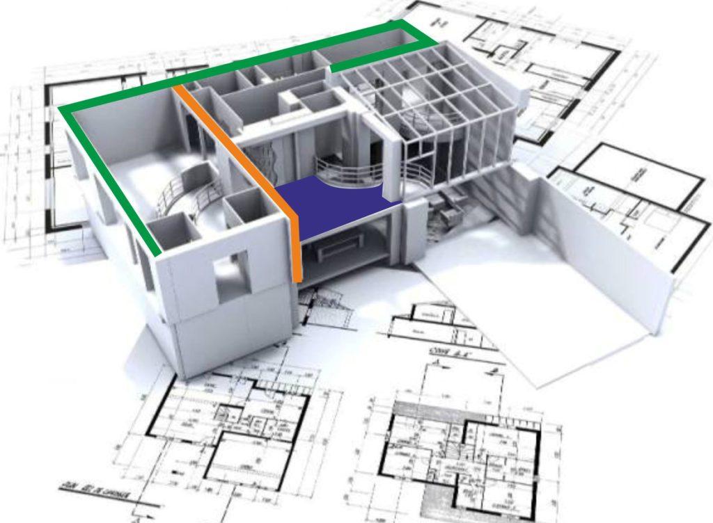 Купить недорого проект перепланировки квартиры: сроки и цена подготовки проекта в АПБ ГРАД