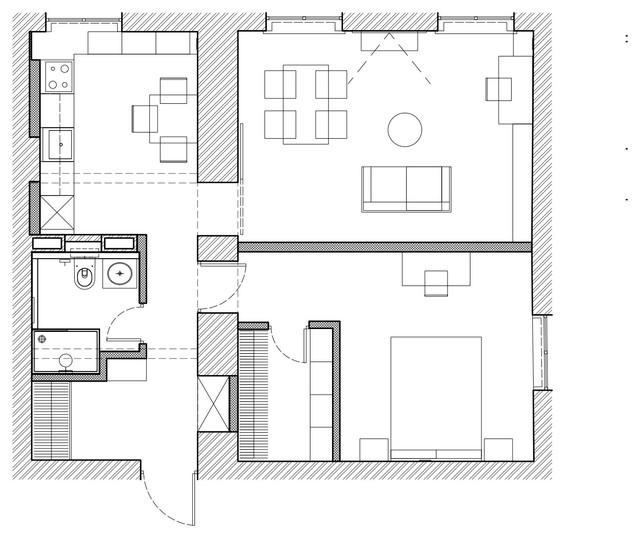 Особенности проектов перепланировки квартир