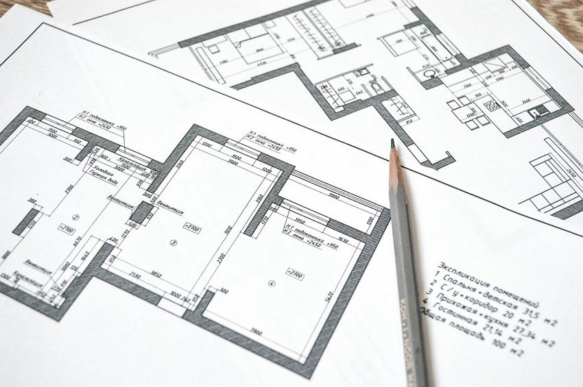 Проект перепланировки квартиры для согласования перепланировки