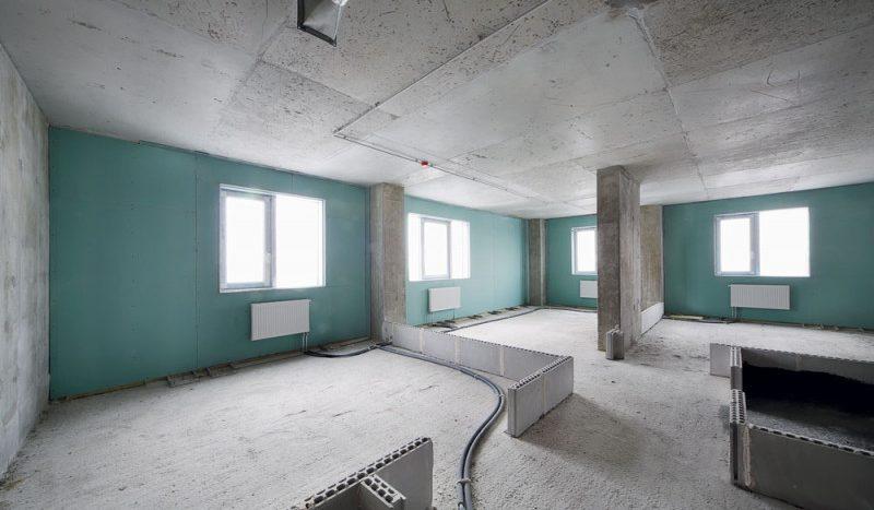 Перепланировка в квартире со свободной планировкой