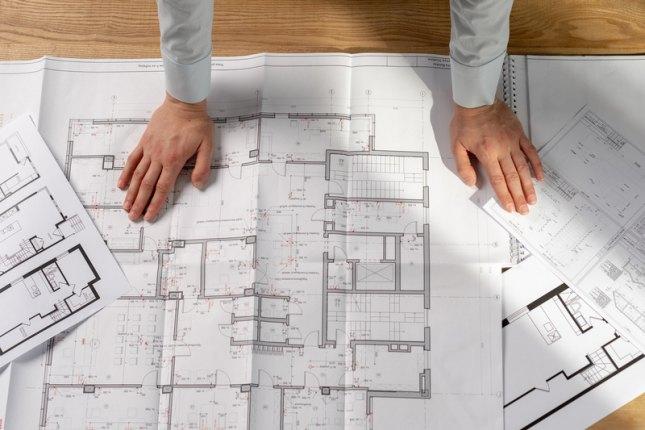 Проект перепланировки нежилого здания