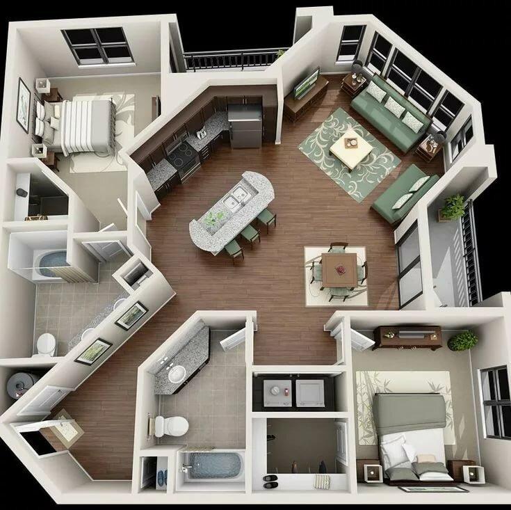 Изготовление проектных документов – основа для проведения перепланировки квартиры