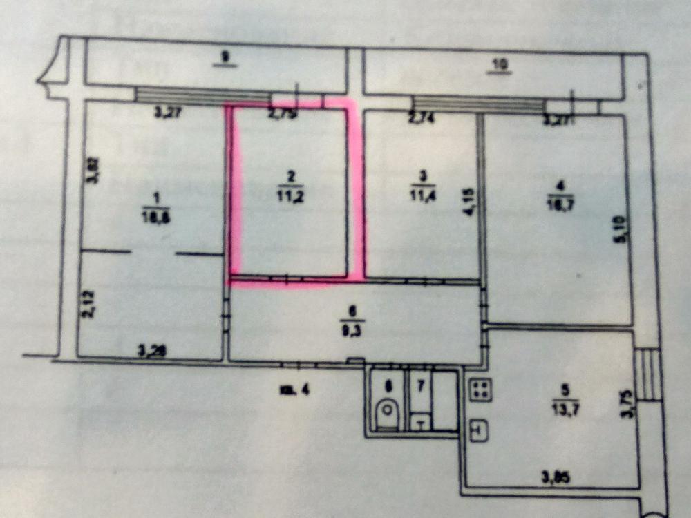 Проект перепланировки нежилого помещения «по красным линиям»