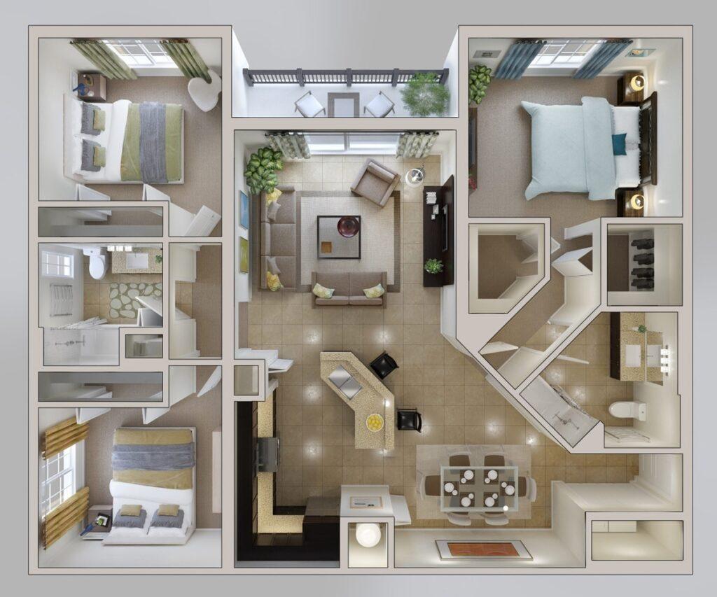 Перепланировка однокомнатной квартиры: особенности процедуры