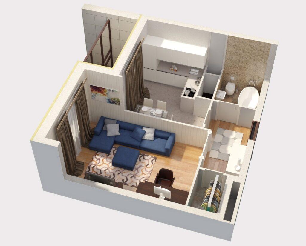 Проект перепланировки квартиры: особенности создания и стоимость