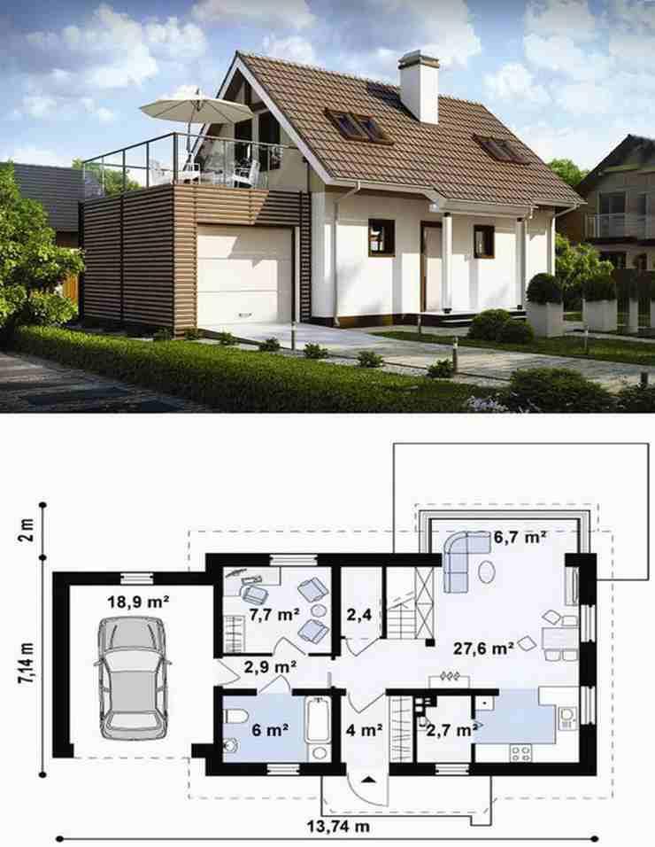 Закажите проект индивидуального дома в АПБ ГРАД быстро и недорого