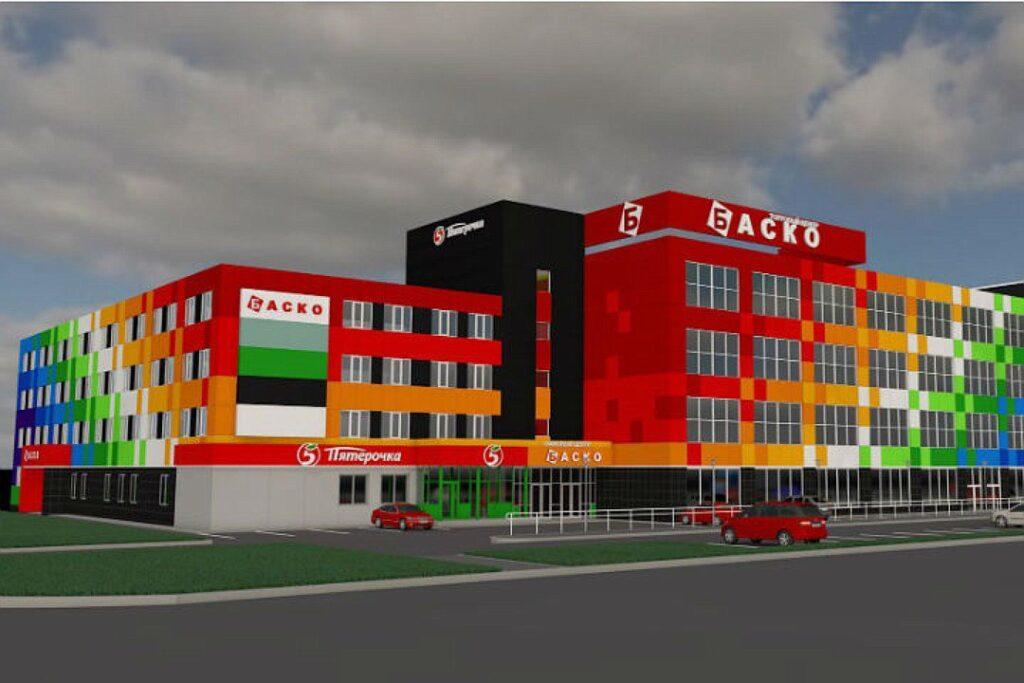 колористическое решение фасада в Москве